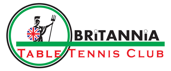 Britannia Table Tennis Club Logo